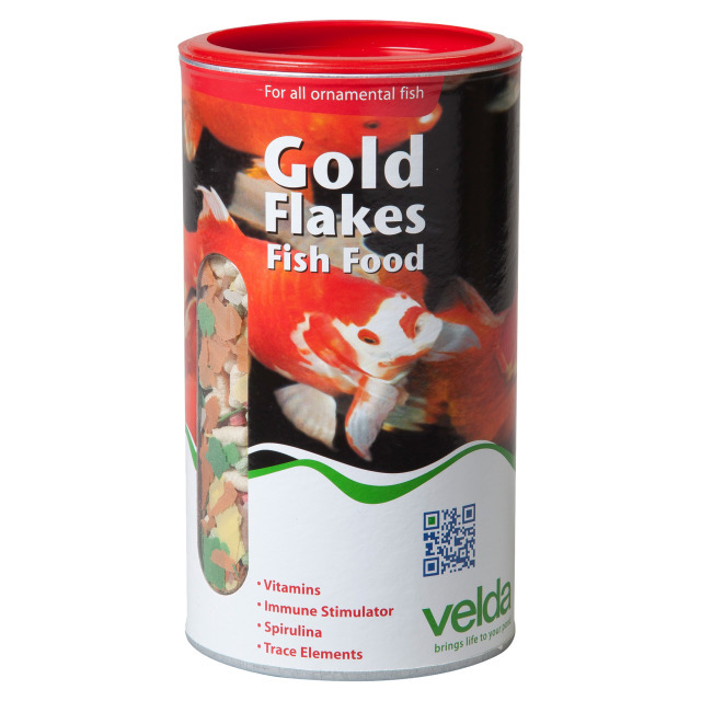 Gold Flakes Basic Food 100g/1250ml
