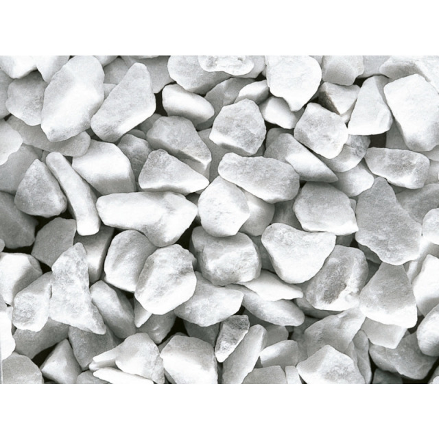 Bianco Carrara Splitt 30-40 mm 25 kg