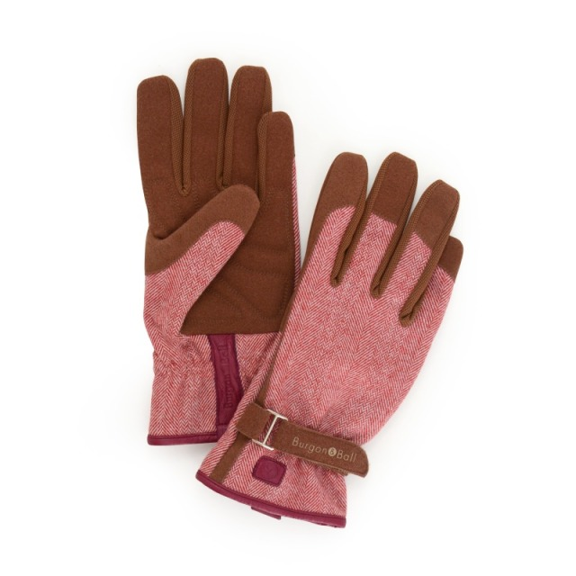 Love the Glove - Red Tweed S/M