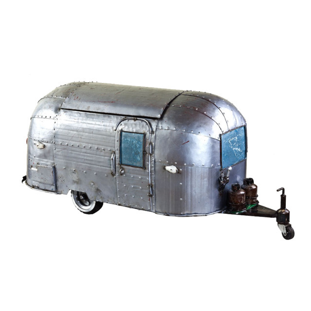 Old School Caravan Cooler 52 x 120 x 46 cm