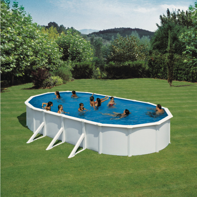 KIT Dream Pool Top oval/Sandf. Eco H2 730 x 375 x 120 cm, inkl.Heimlieferung
