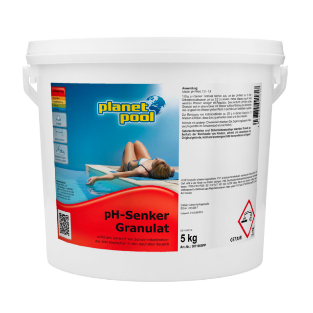 PH-Minus Granulat 5 kg Planet Pool