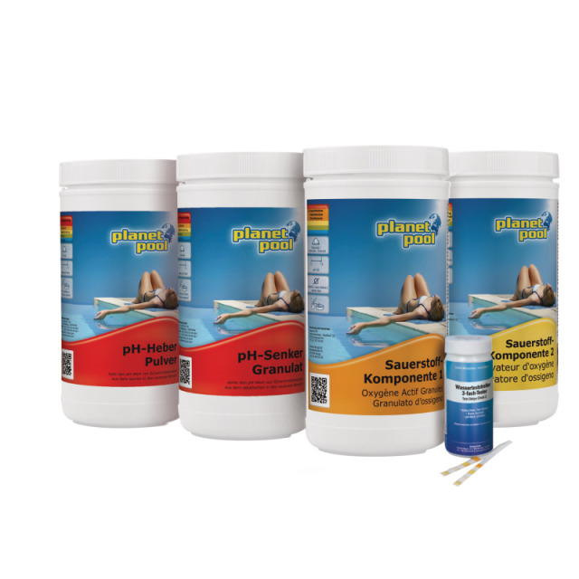 Starterset chlorfrei 1 Karton-Set / Planet Pool