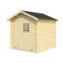 Blockhaus Athen, 19mm naturbelassen 205x205x217 cm