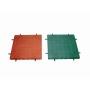 Fallschutzplatte grün 500 x 500 x 45 mm