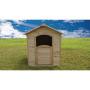 Budget House natur 109.7x110.5xH120cm