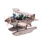Albatros Wasserflugzeug Getränkehalter 76 x 66 x 48 cm