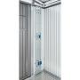 Elektro-Montagepaneel für Europa und Geräteschrank 20x4x172,5